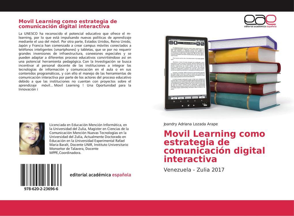 Movil Learning como estrategia de comunicación digital interactiva als Buch von Joandry Adriana Lozada Arape