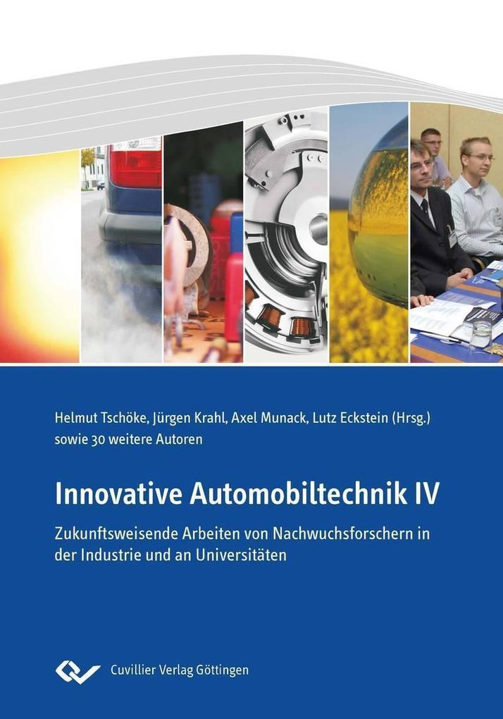 Innovative Automobiltechnik IV als eBook von