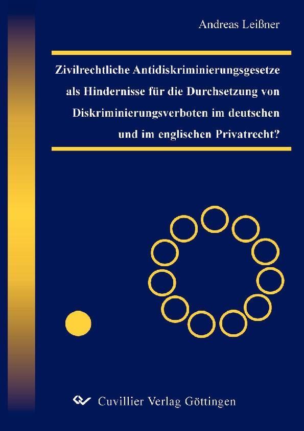 Zivilrechtliche Antidiskriminierungsgesetze als...