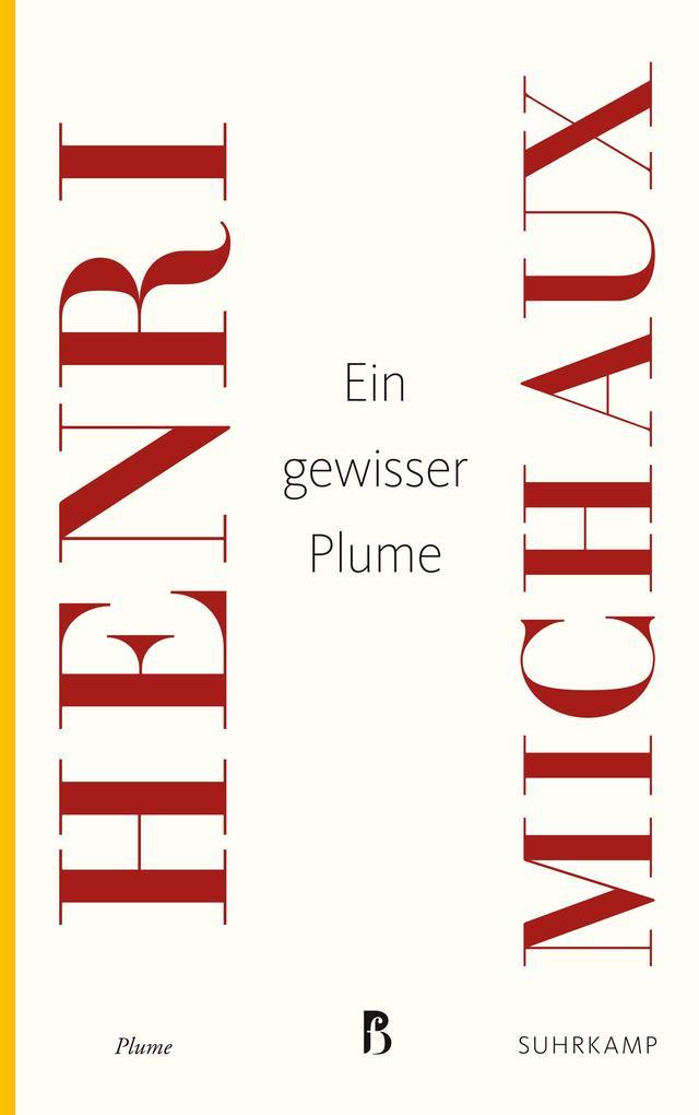 Ein gewisser Plume als Taschenbuch von Henri Mi...