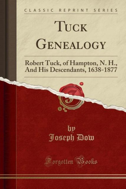Tuck Genealogy als Taschenbuch von Joseph Dow