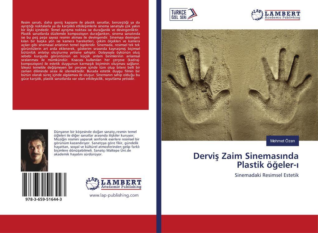 Dervis Zaim Sinemasinda Plastik ögeler-i als Buch von Mehmet Özen
