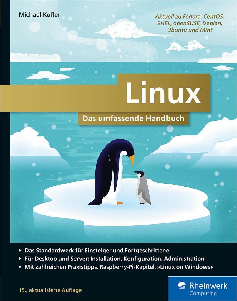 Linux als eBook von Michael Kofler