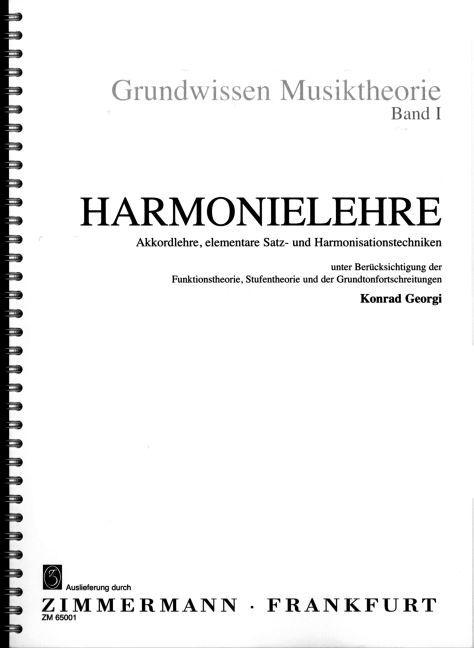 Harmonielehre 1 als Buch von Konrad Georgi