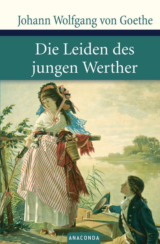 Die Leiden des jungen Werther als Buch von Johann Wolfgang von Goethe