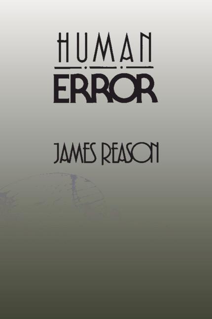 Human Error als Buch von James Reason
