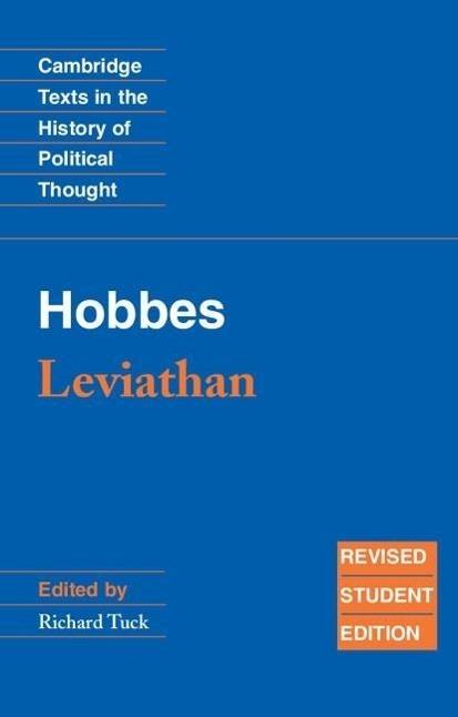 Hobbes: Leviathan als Buch von Thomas Hobbes