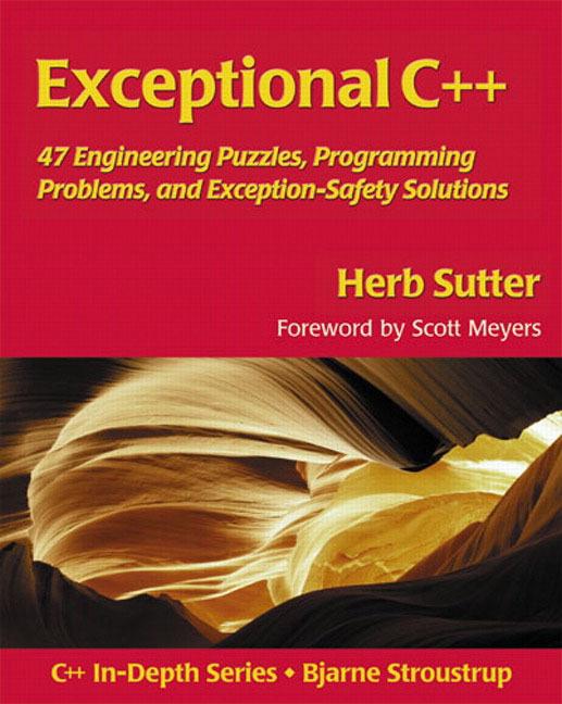 Exceptional C++ als Buch von Herb Sutter