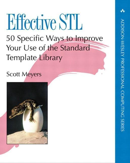 Effective STL als Buch von Scott Meyers