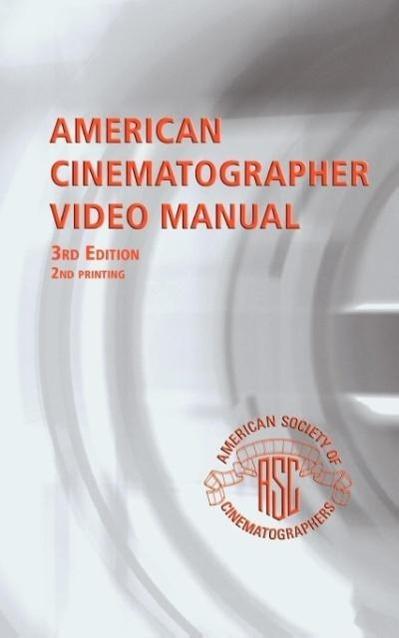American Cinematographer Video Manual als Tasch...
