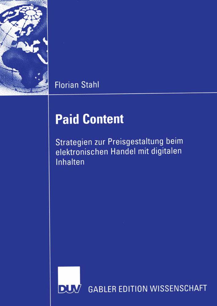 Paid Content als Buch von Florian Stahl