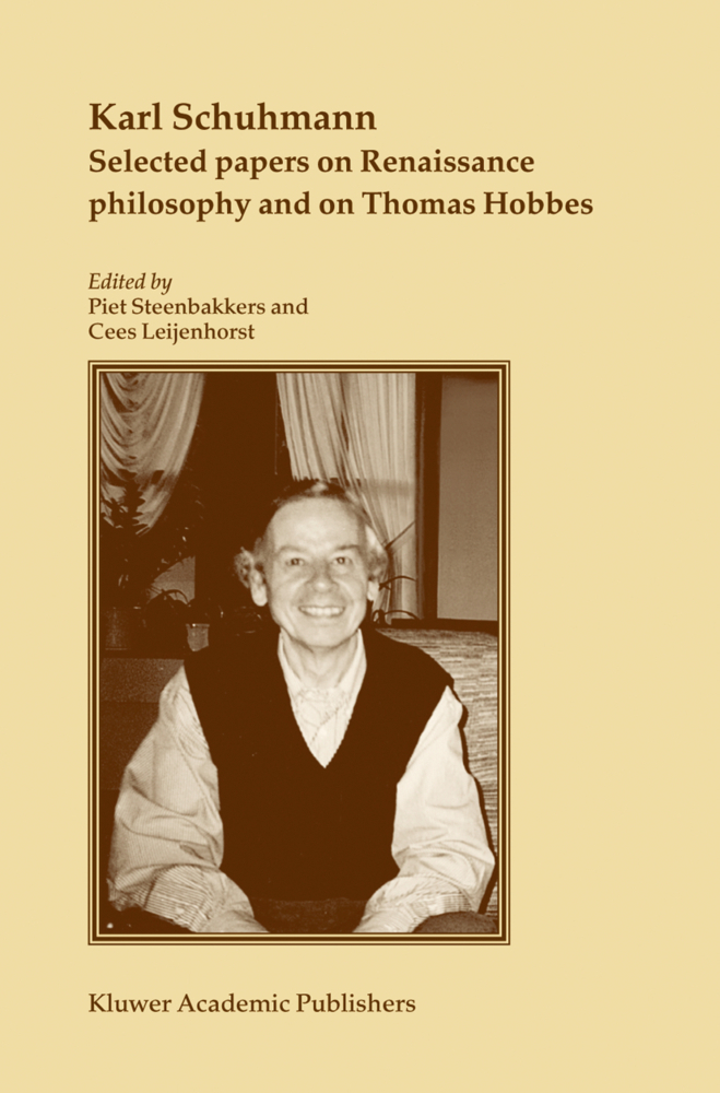 Selected papers on Renaissance philosophy and o...