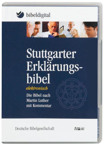 Stuttgarter Erklärungsbibel. CD-ROM für Windows 98/ME/NT/2000/XP als Software von
