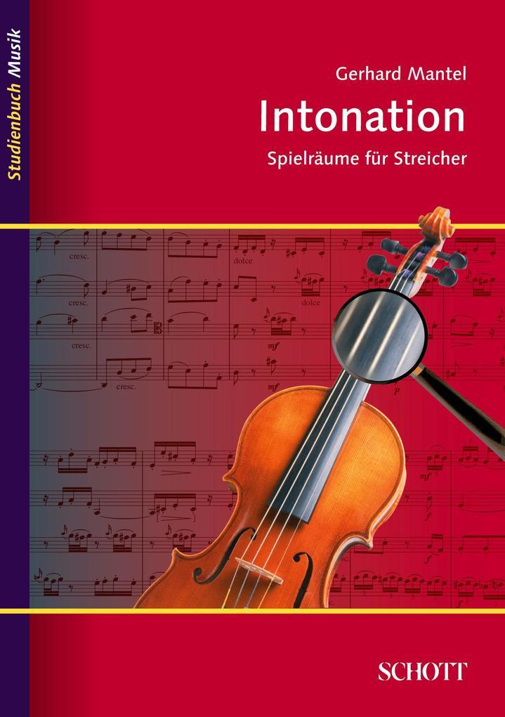 Intonation als Buch von Gerhard Mantel