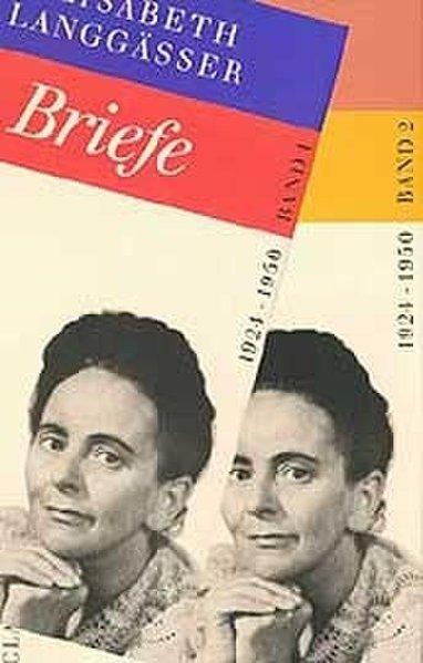 Briefe 1924-1950 als Buch von Elisabeth Langgässer