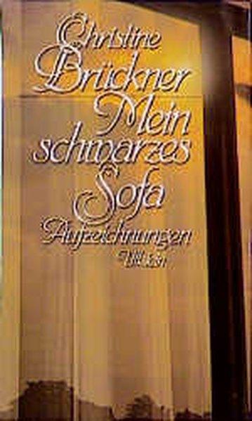 Mein schwarzes Sofa als Buch von Christine Brückner