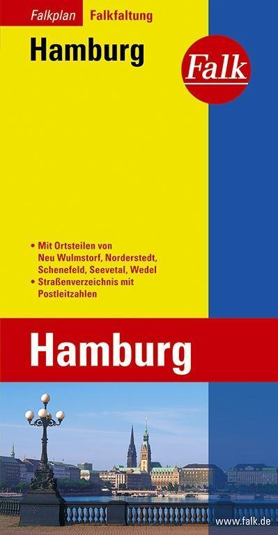 Falk Stadtplan Falkfaltung Hamburg 1 : 19 000 -...
