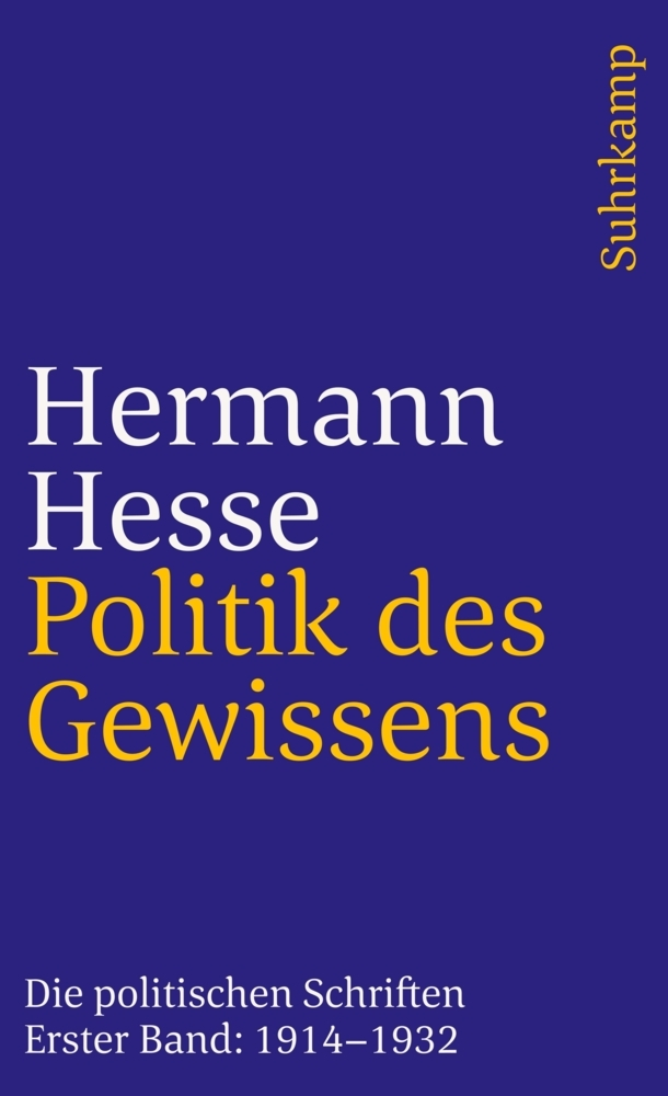 Politik des Gewissens als Taschenbuch von Herma...