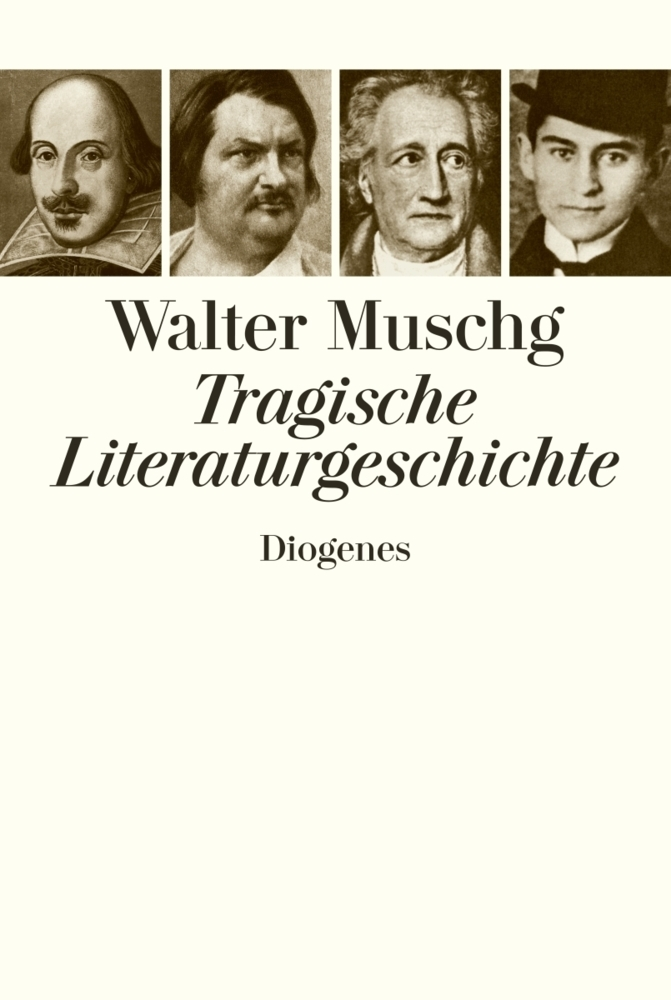 Tragische Literaturgeschichte als Buch von Walter Muschg