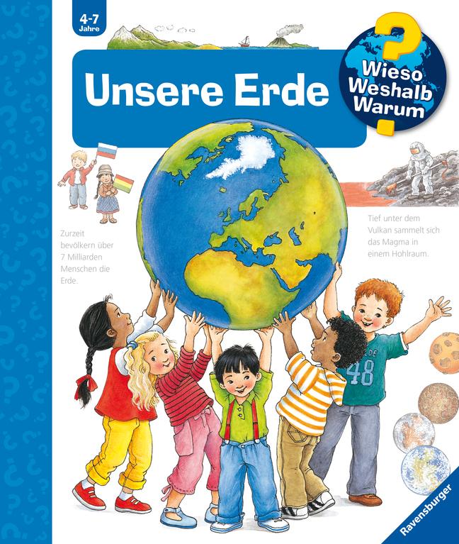 Unsere Erde als Buch von Angela Weinhold