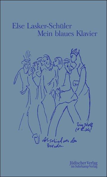 Mein blaues Klavier als Buch von Else Lasker-Schüler
