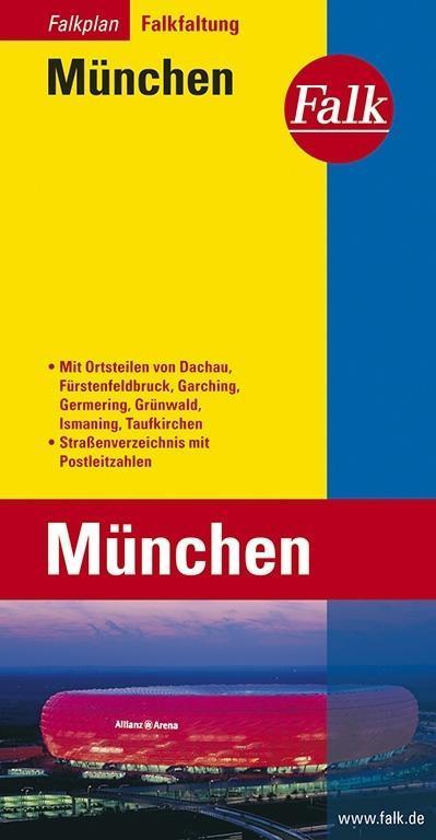 Falk Stadtplan Falkfaltung München als Buch von