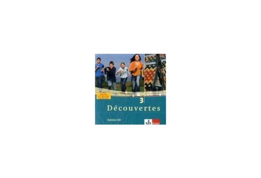 Découvertes 3. Schüler-CD als Hörbuch CD von