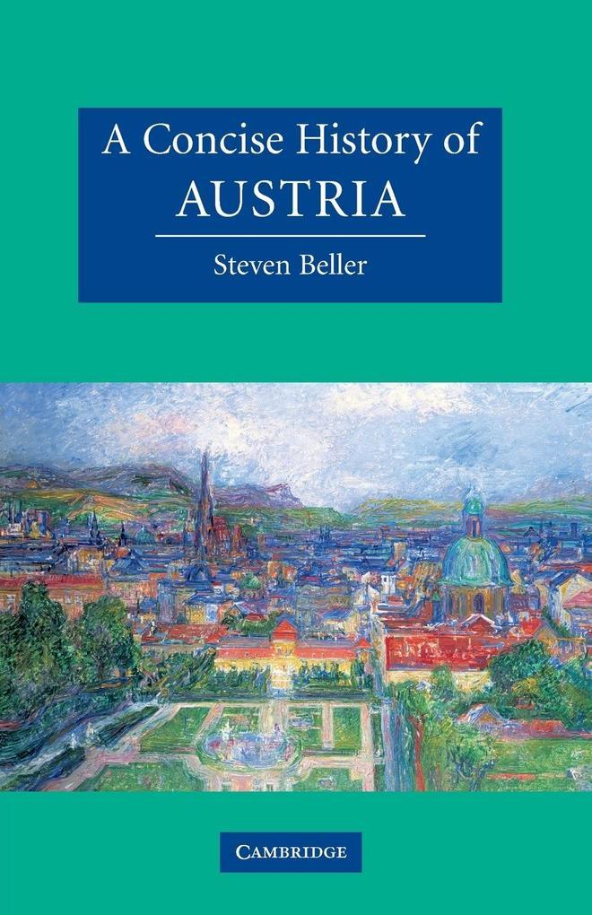 A Concise History of Austria als Buch von Steven Beller
