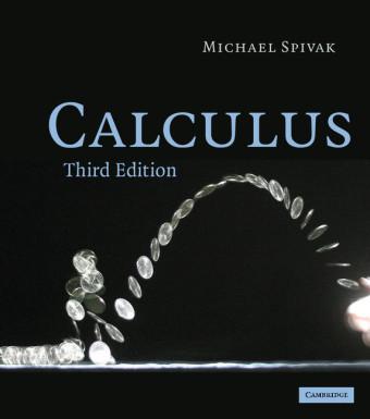 Calculus als Buch von Michael Spivak