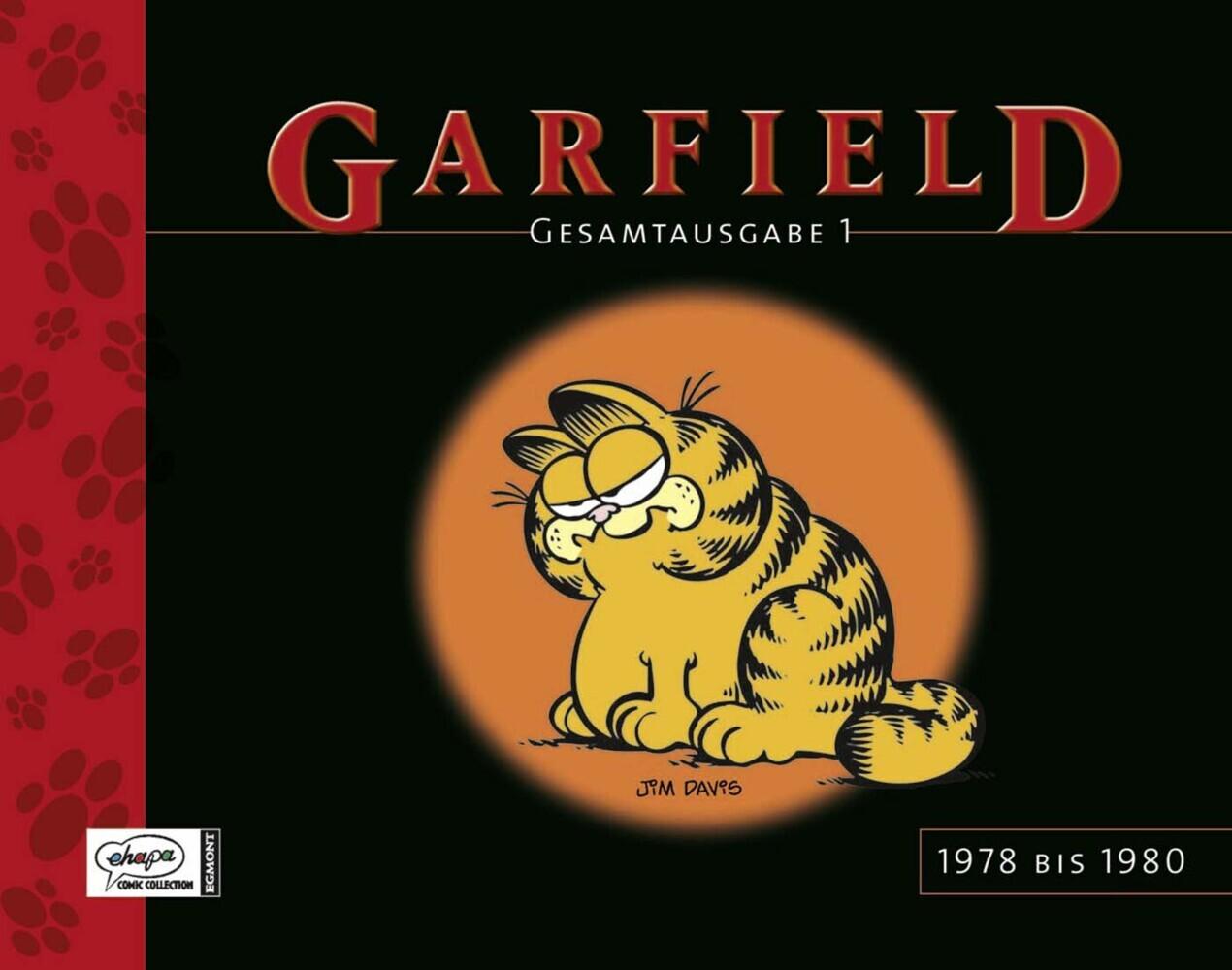 Garfield Gesamtausgabe 01 als Buch von Jim Davis