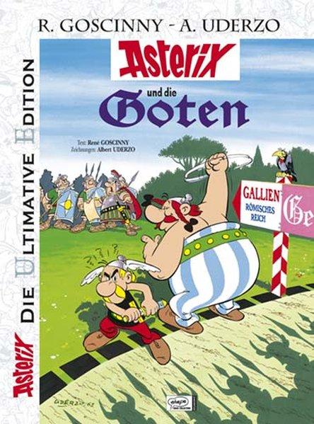 Asterix: Die ultimative Asterix Edition 03. Asterix und die Goten als Buch von René Goscinny, Albert Uderzo
