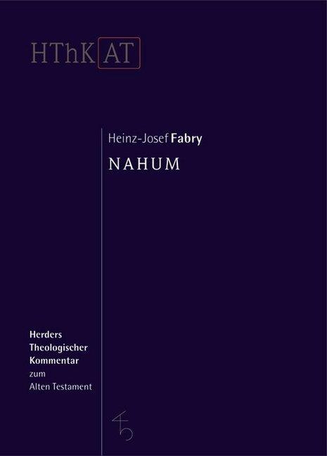 Nahum als Buch von Heinz-Josef Fabry