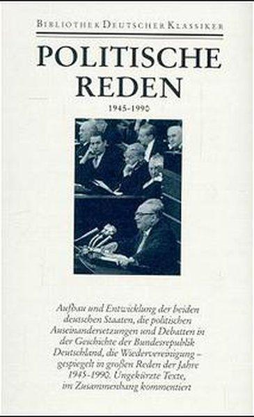 Politische Reden 4. 1945 - 1990 als Buch von