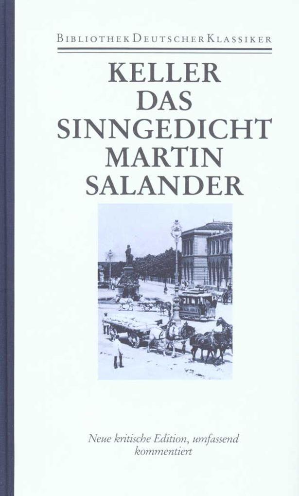 Sieben Legenden. Das Sinngedicht. Martin Salander als Buch von Gottfried Keller