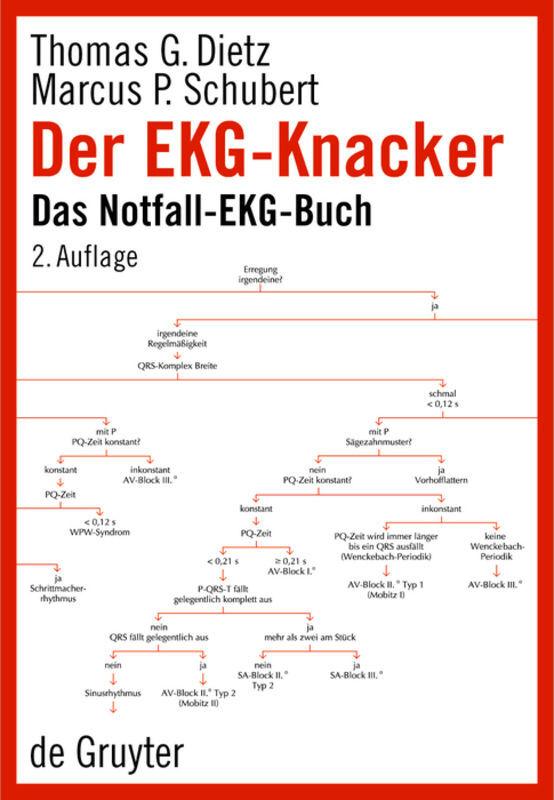 Der EKG-Knacker als Buch von Thomas G. Dietz, Marcus P. Schubert