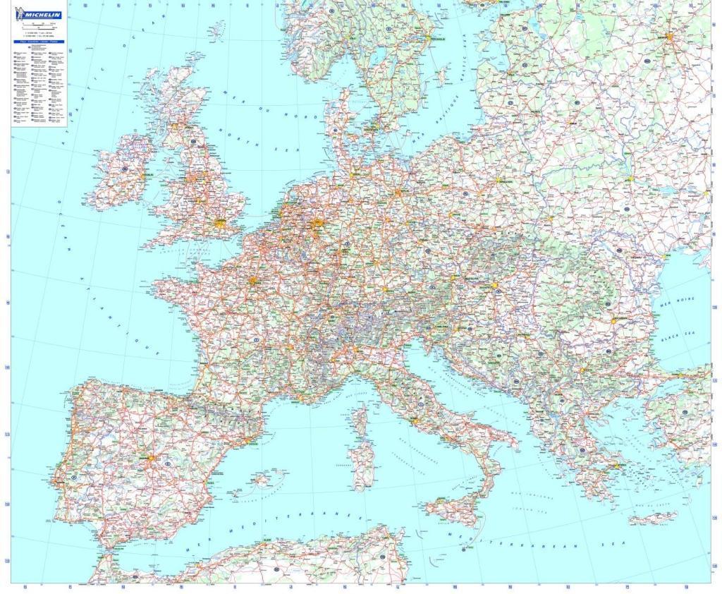 Europa - Planoposter mit Leiste als Buch von