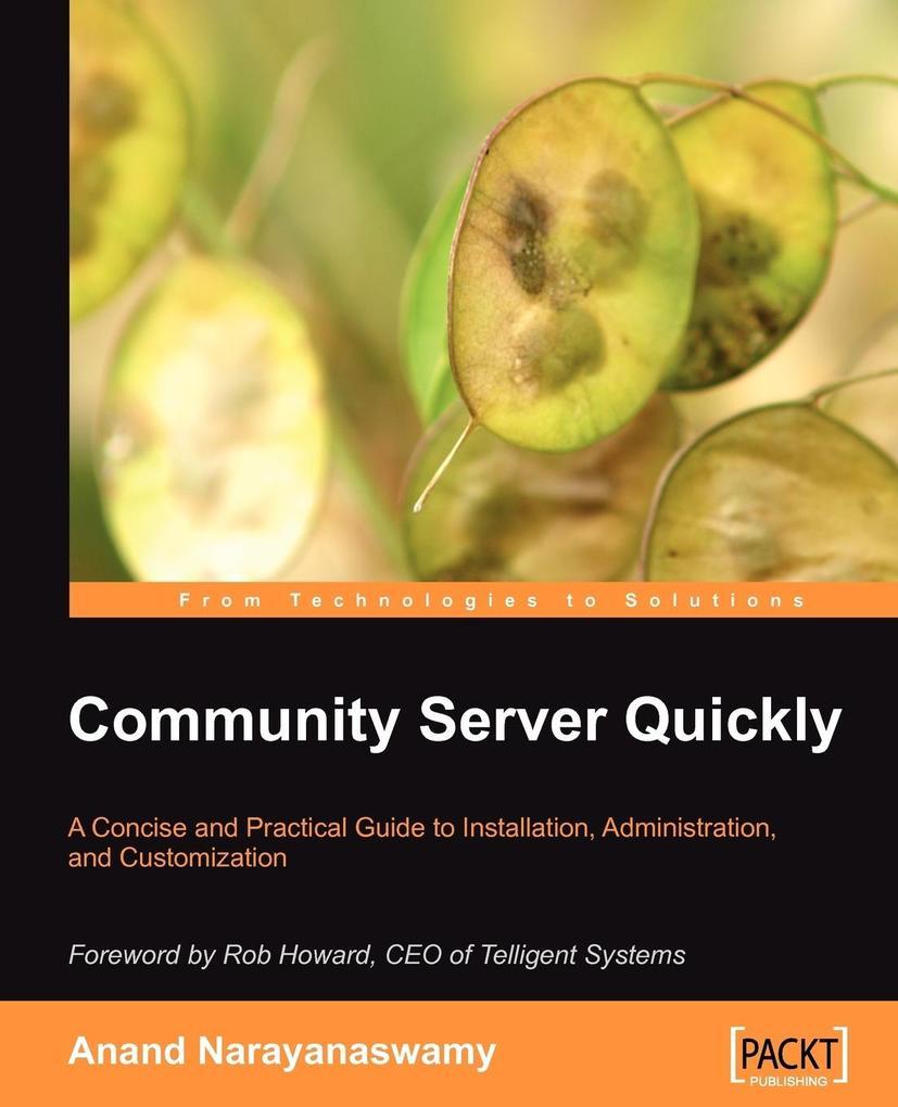 Community Server Quickly als Taschenbuch von An...