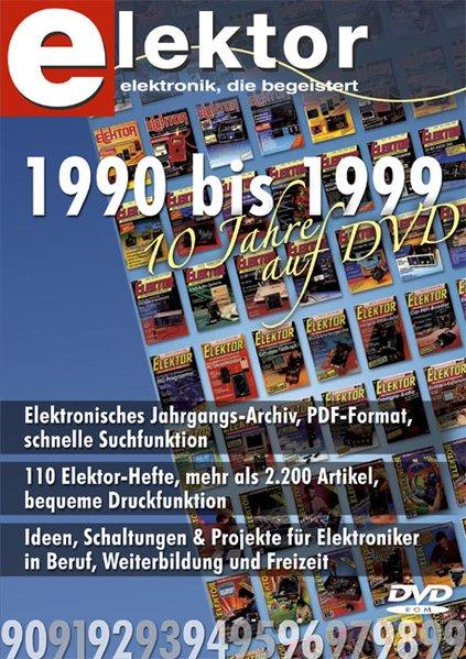 Elektor-DVD 1990-1999. DVD-ROM für Windows als Software von