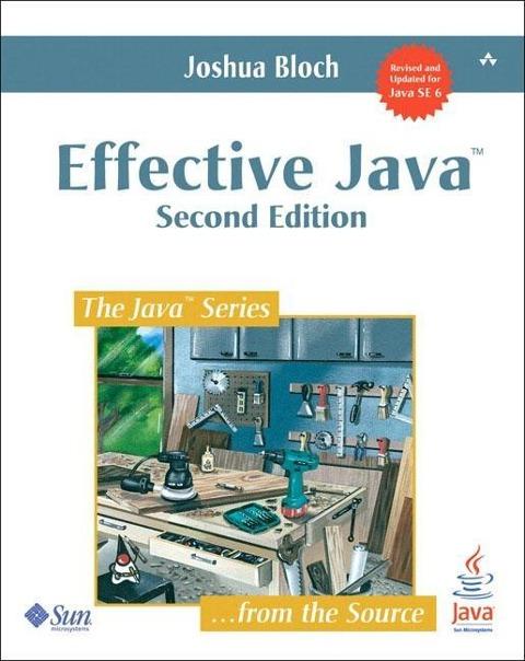 Effective Java als Buch von Joshua Bloch