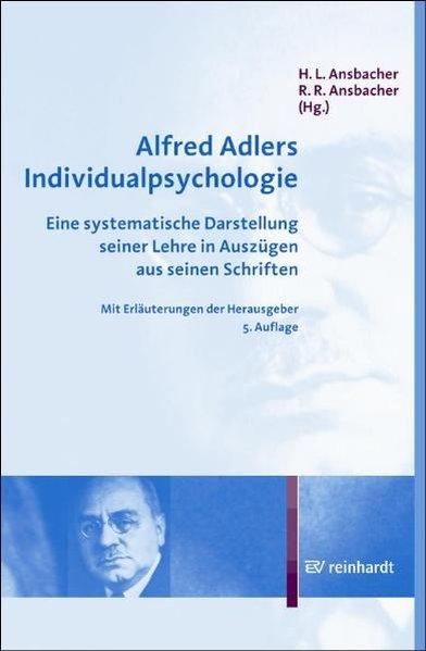 Alfred Adlers Individualpsychologie als Buch von Alfred Adler