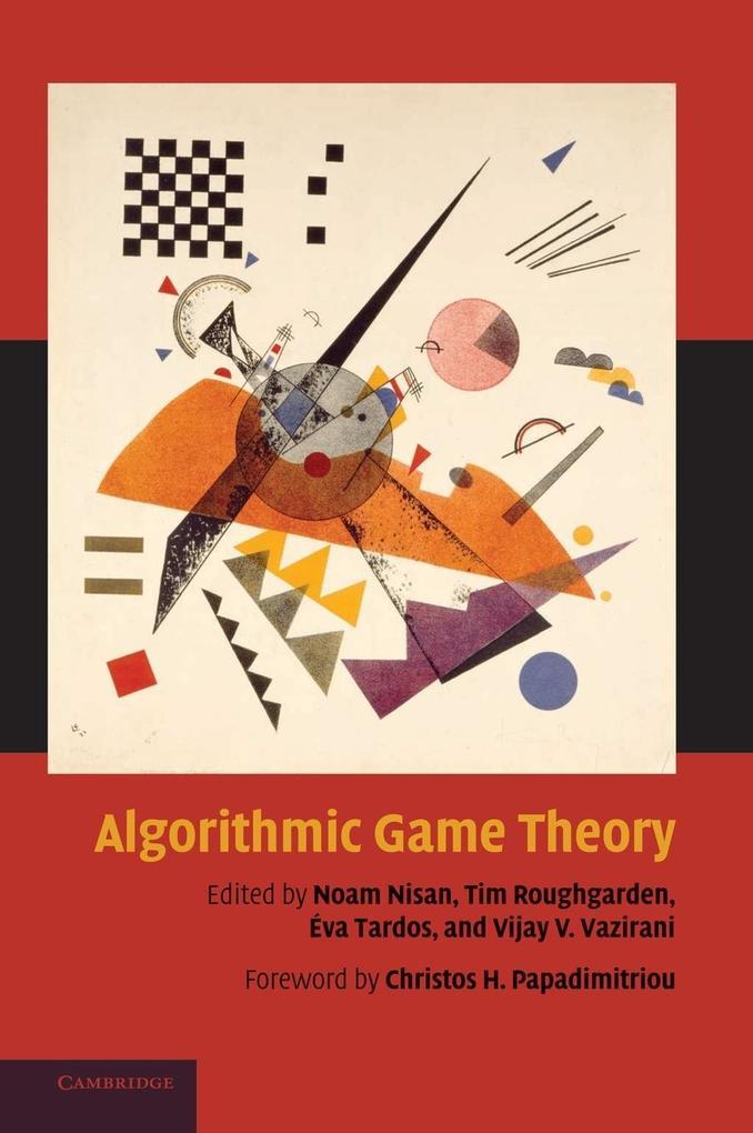 Algorithmic Game Theory als Buch von