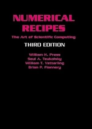 Numerical Recipes als Buch von William H. Press, Saul A. Teukolsky, William T. Vetterling, Brian P. Flannery