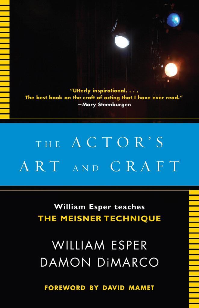 Actor´s Art and Craft als Taschenbuch von Willi...
