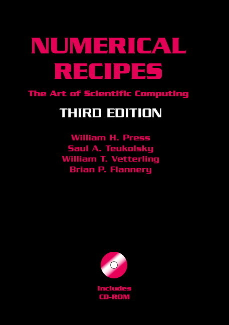 Numerical Recipes with Source Code CD-ROM als Buch von William H. Press, Saul A. Teukolsky, William T. Vetterling, Brian