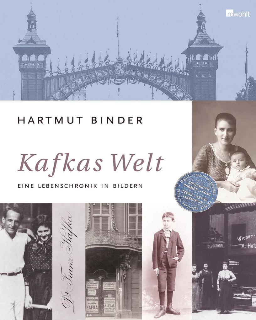 Kafkas Welt als Buch von Hartmut Binder