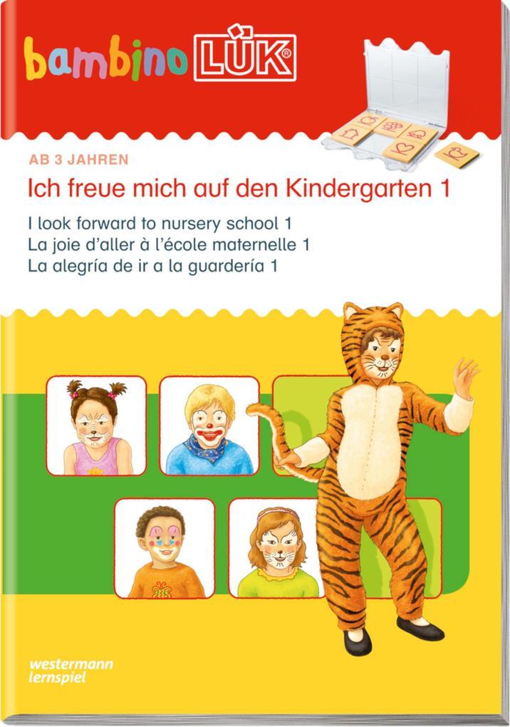 LÜK bambino. Ich freue mich auf den Kindergarten 1 als Buch von