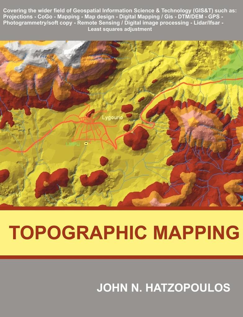 Topographic Mapping als Taschenbuch von John N. Hatzopoulos