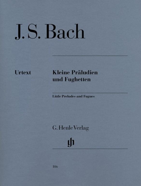 Kleine Präludien und Fughetten als Buch von Johann Sebastian Bach
