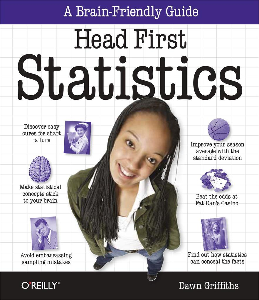 Head First Statistics als Buch von Dawn Griffiths