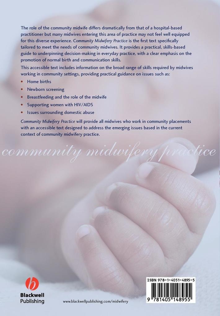 Community Midwifery als Taschenbuch von Edwins